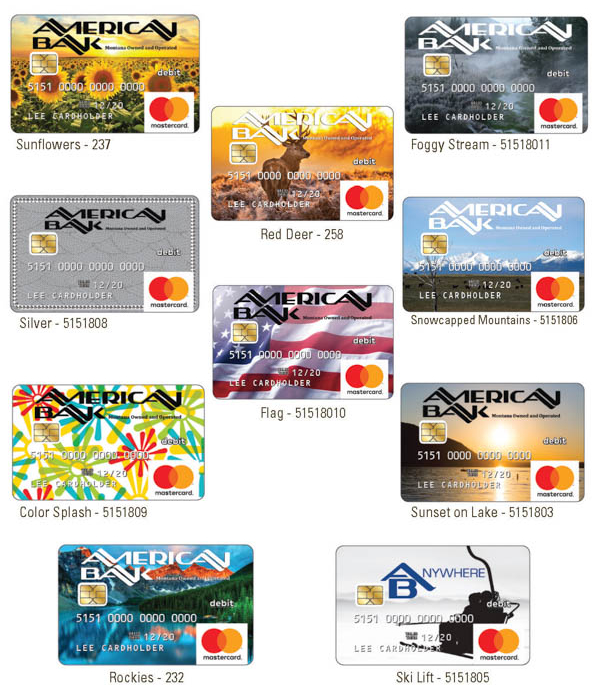 American Bank Consumer Debit Cards Gif